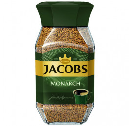 Кофе Jacobs Monarch натуральный растворимый сублимированный, 95г
